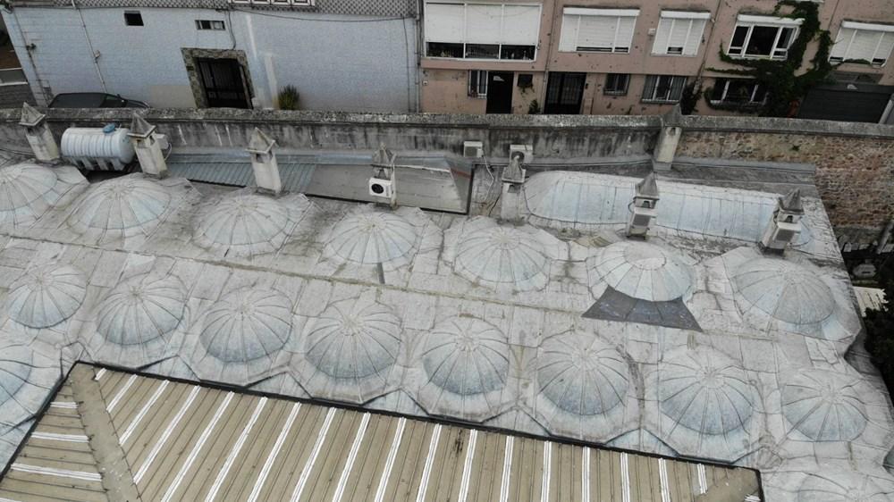 Üsküdar'daki 472 yıllık tarihi camiiye klima ünitesi - 1