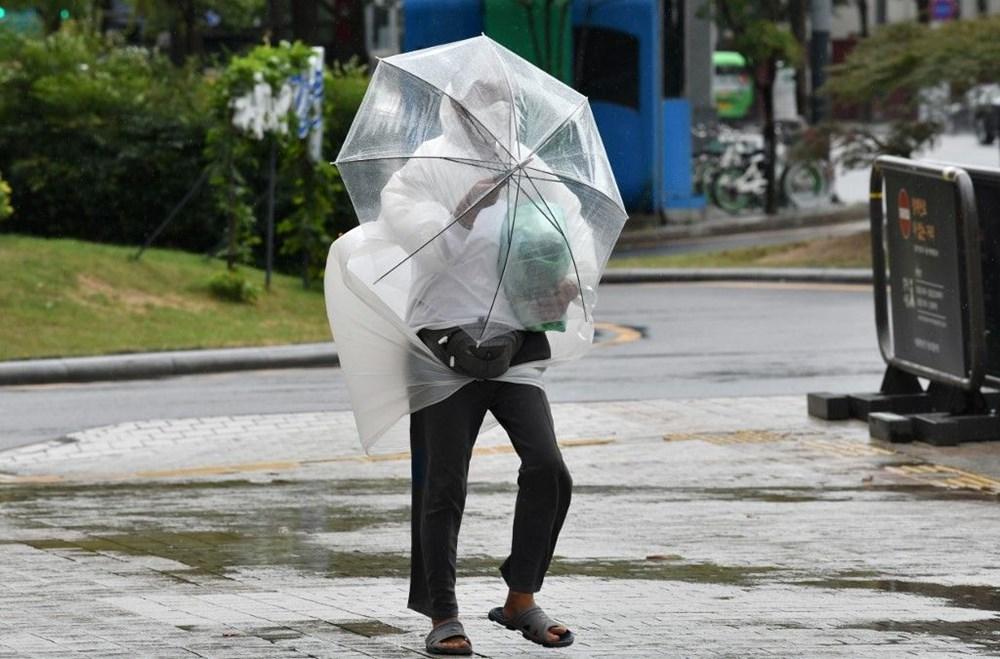 Japonya'nın güneybatısını vuran Haişen tayfununda 2 ölü, 100'den fazla yaralı - 7