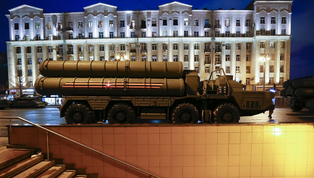Military parade rehearsal in Moscow