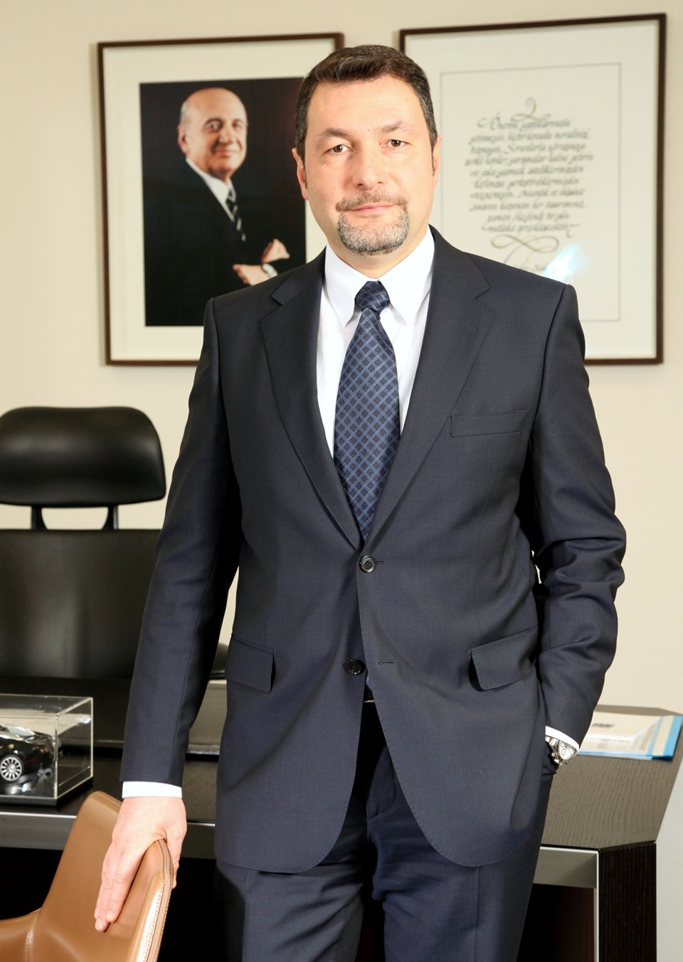 Doğuş Otomotiv Yönetim Kurulu Başkanı Ali Bilaloğlu