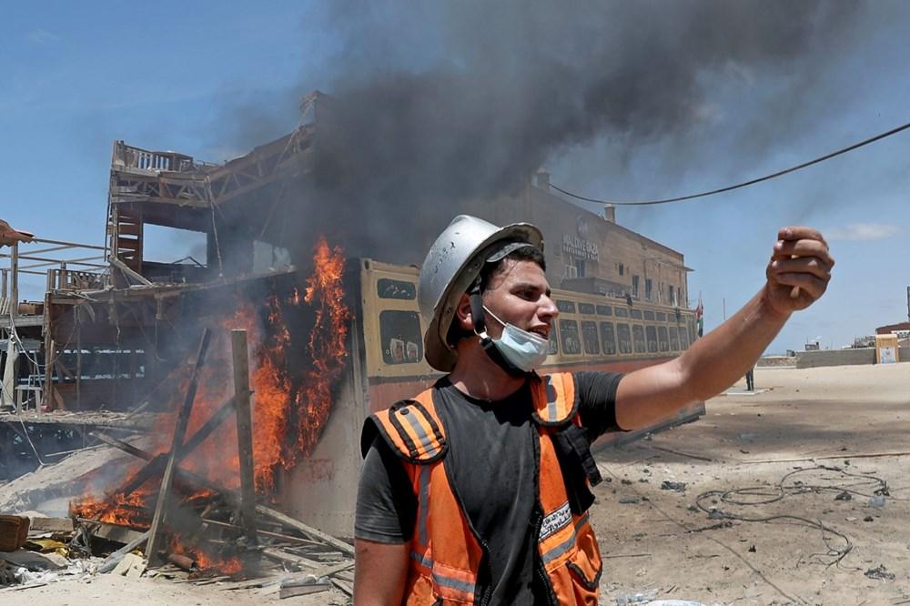 İsrail'in Gazze'ye saldırılarının bir haftalık bilançosu: 200 ölü, bin 307 yaralı - 5