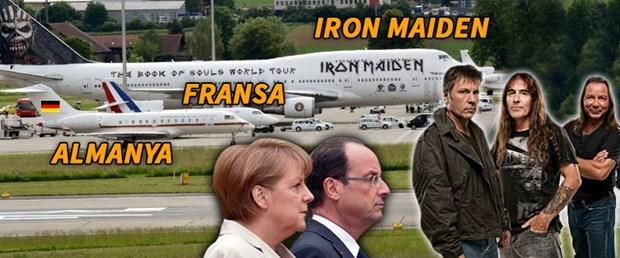 Merkel Ve Hollande Iron Maiden In Yaninda Cuce Kaldi Ntv
