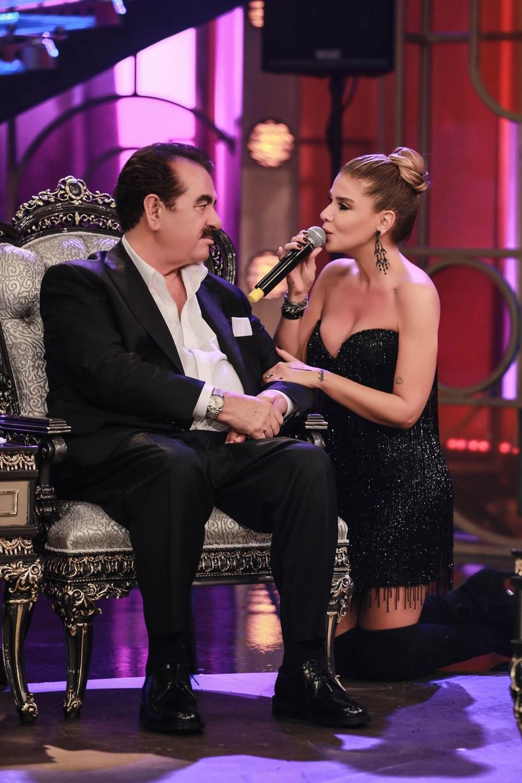 İbo Show yeni bölüm fotoğrafları: İbrahim Tatlıses'in kızı Elif Ada ilk kez stüdyoda - 6