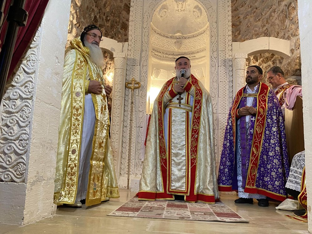 Midyat'ta Süryani cemaatinden 30 yıl sonra papaz töreni - 7
