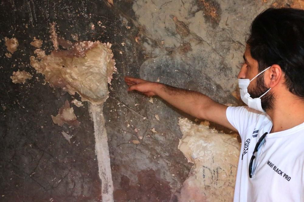 Palanlı Mağarası defineciler tarafından tahrip edildi - 3