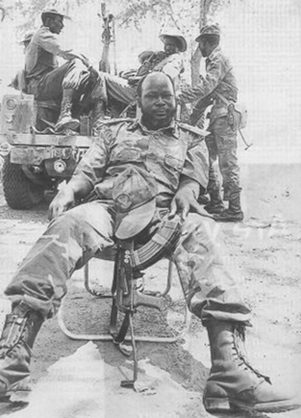 Güneydeki isyancılar John Garang