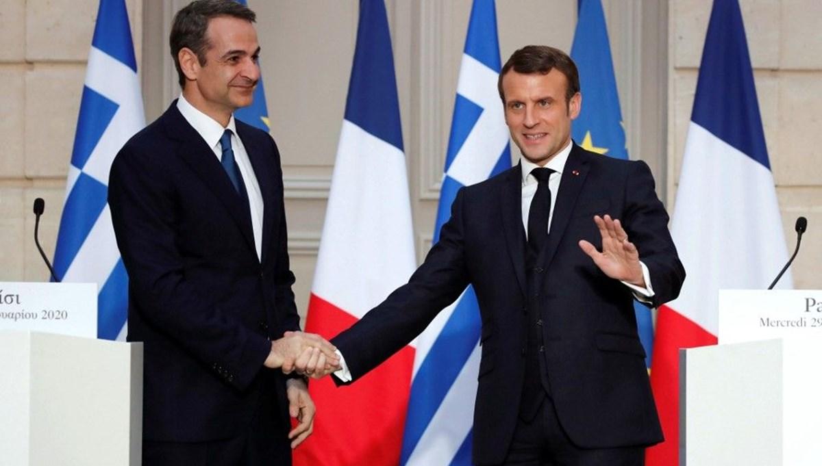 Yunanistan'dan Fransa'ya Doğu Akdeniz teşekkürü
