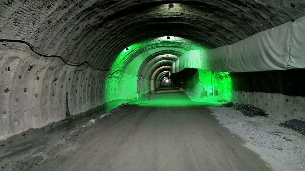 Yusufeli'nin yeni yerleşim yerine 40 tünelle ulaşılacak - 7