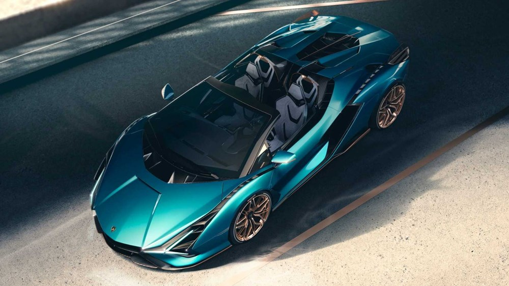 Lamborghini Sion Roadster tanıtıldı (Sadece 19 adet üretilecek) - 2
