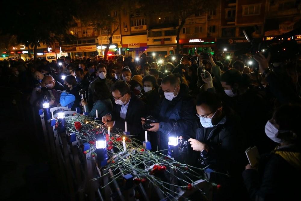 İzmir'deki depremde hayatını kaybedenler anıldı - 10