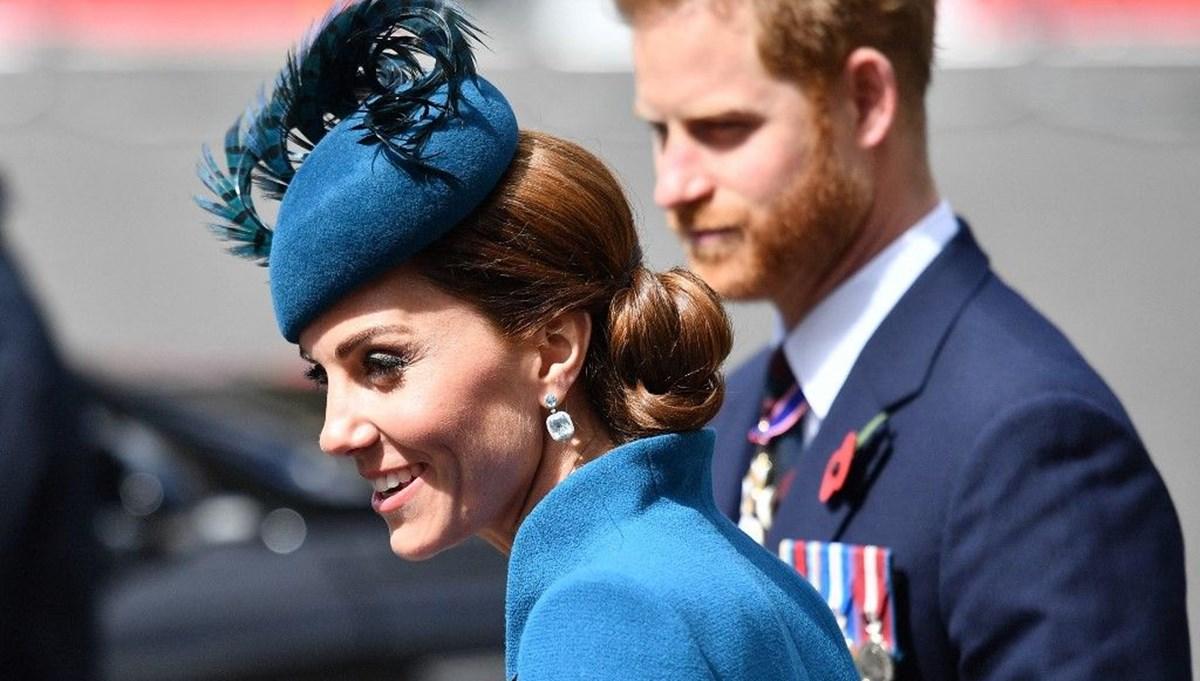 Prens Harry'nin görevleri Kate Middleton'a geçiyor