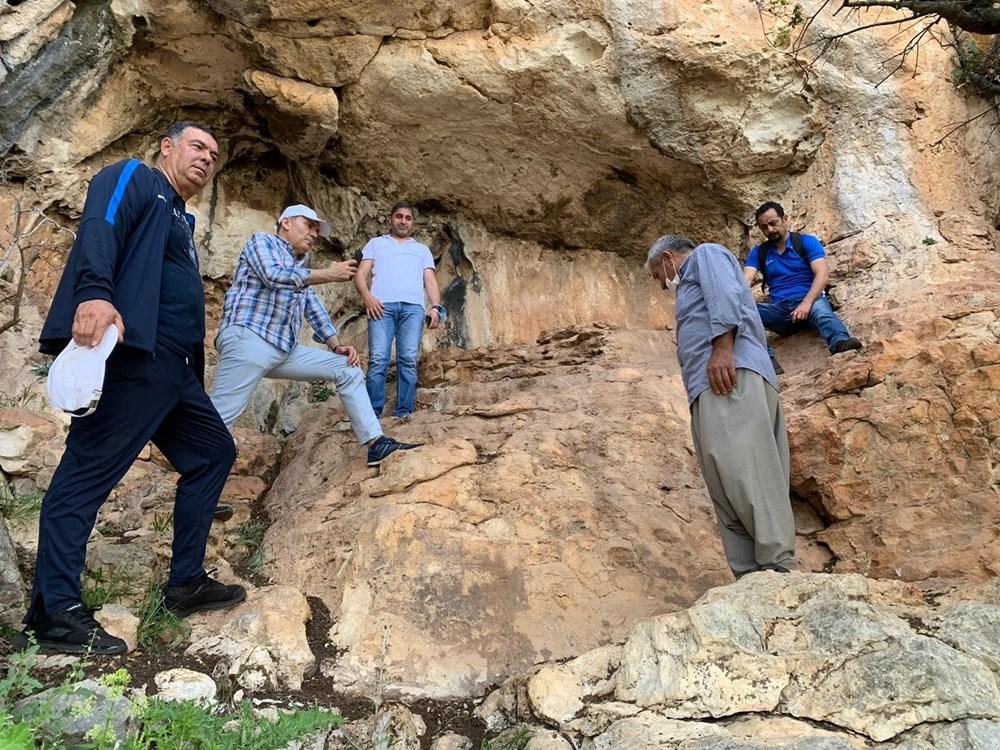 Mersin'de bir mağarada bulunan 8 bin yıllık kaya resimleri koruma altına alınıyor - 2