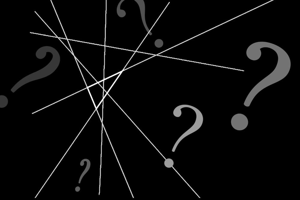 Bu resimde kaç tane üçgen var? (İnterneti ikiye bölen soru) - 1