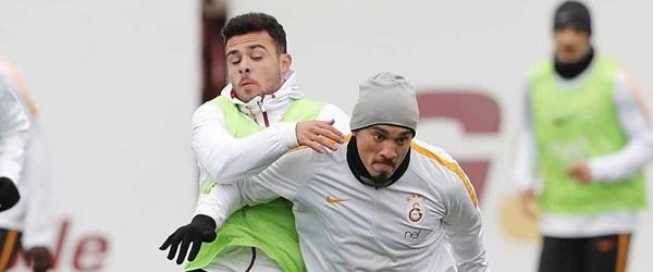 Galatasaray'da Trabzonspor mesaisi başladı