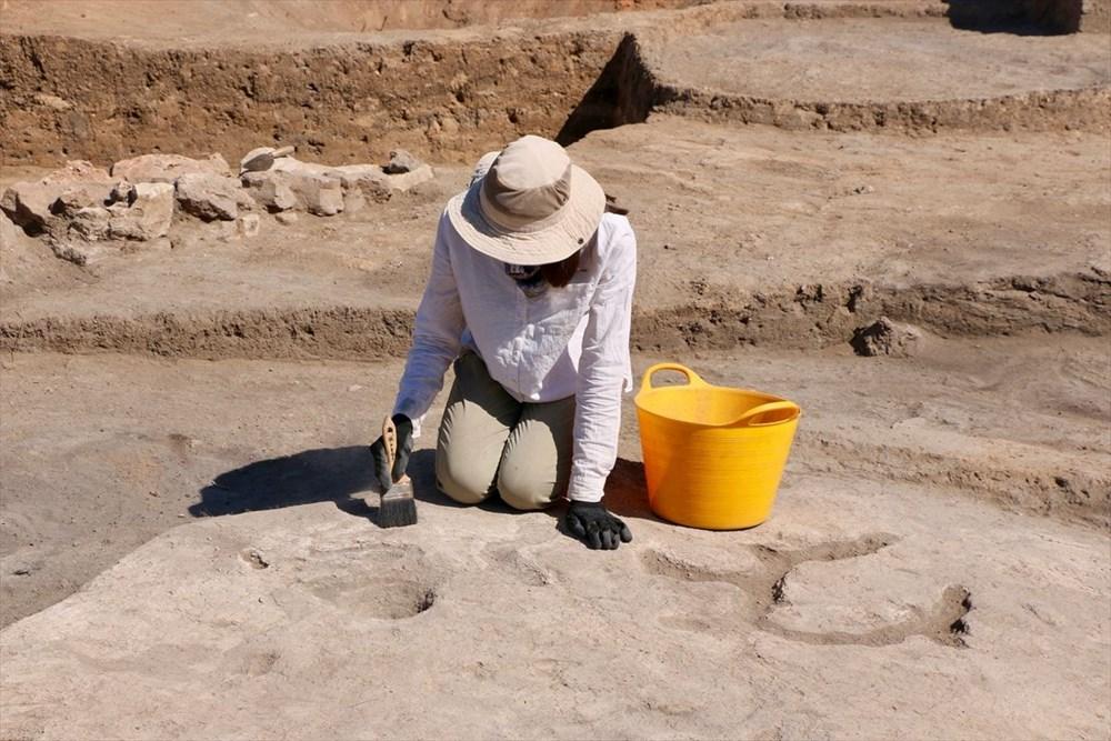 Eskişehir Küllüoba kazısında 5 bin yıllık boya paleti bulundu - 9