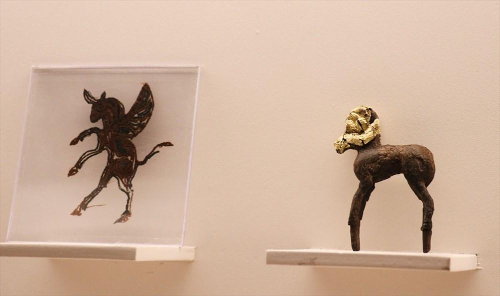 200 bine yakın tarihi eser Kazakistan Milli Müzesi'nde - 6