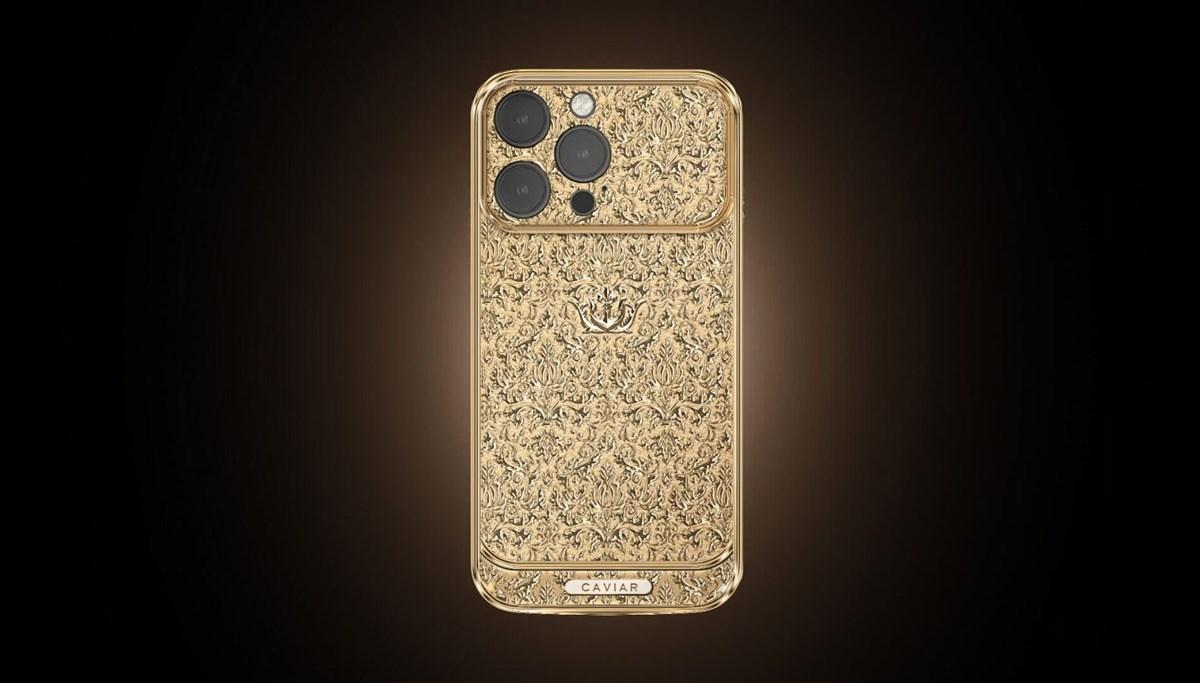 Bu iPhone tamamen altından: Fiyatı 445 bin lira