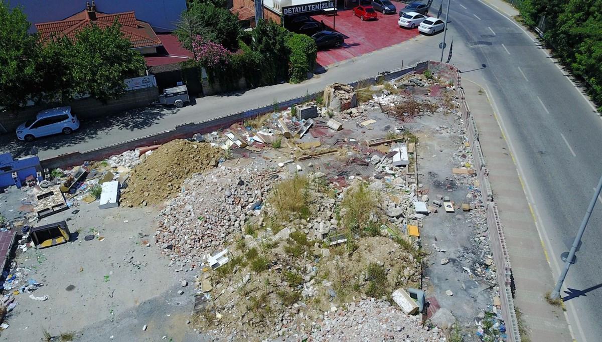 Ataşehir'de mahalle ortasında 'korku alanı'