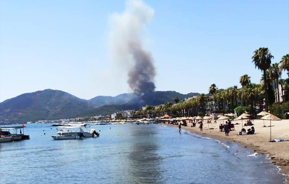 Antalya, Adana, Mersin, Aydın, Muğla, Osmaniye, Kayseri ve Manisa'da orman yangınları - 24