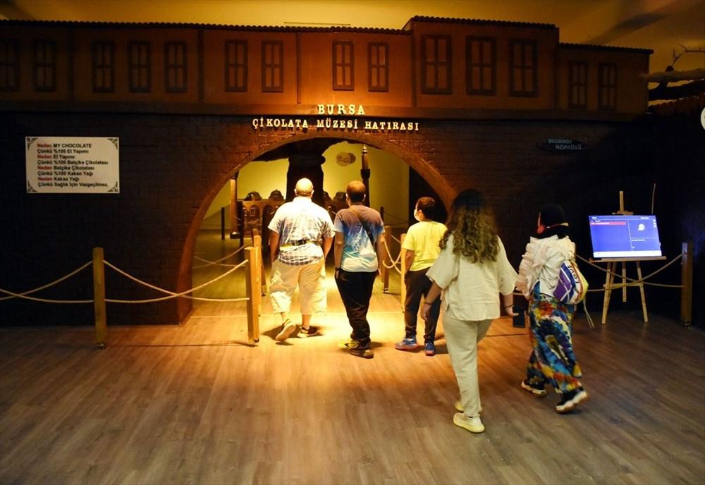 Bursa'nın en tatlı müzesi: 8 ton çikolata kullanıldı (Bursa Çikolata Müzesi) - 1