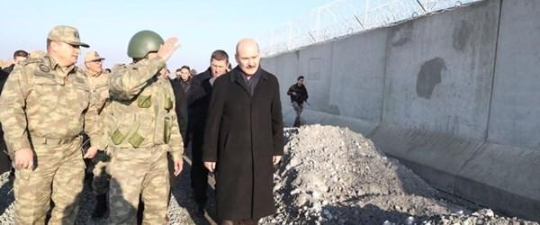 Sınırdaki güvenlik duvarlarının yüzde 50'si tamamlandı