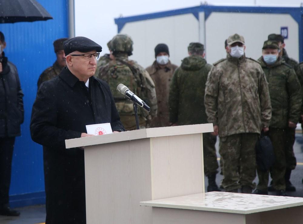 Dağlık Karabağ'da Türk-Rus Ortak Gözlem Merkezi faaliyete başladı - 5