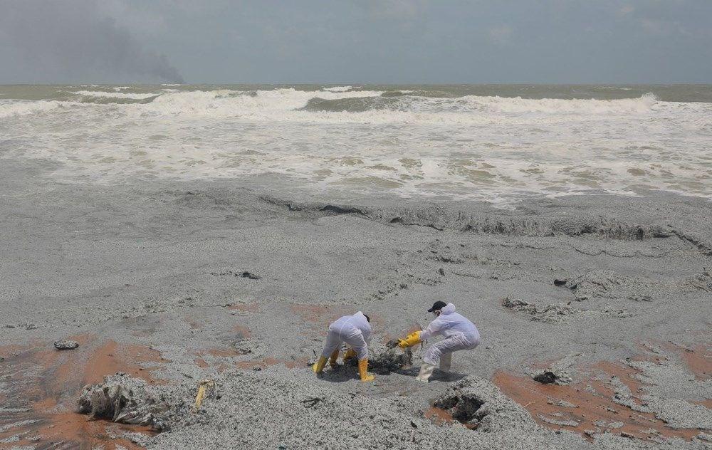 Kimyasal madde taşıyan gemi battı: Sri Lanka çevre felaketiyle karşı karşıya - 17