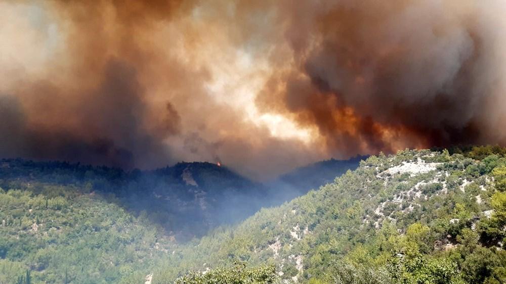 Antalya Manavgat'ta büyük yangın - 13