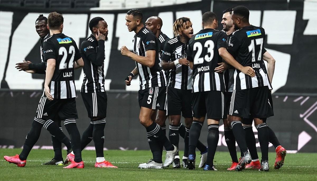 Beşiktaş'tan 7 gollü galibiyet