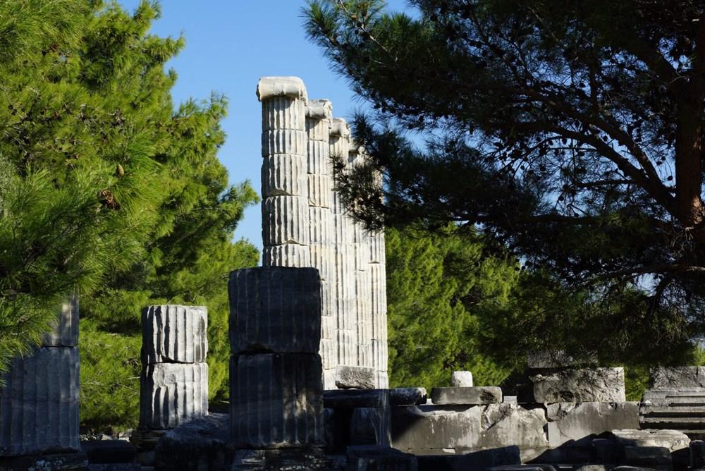 M.Ö. 4.yüzyılda kurulan ilk planlı şehir Priene - 3