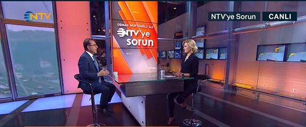 Osman Müftüoğlu ile NTV'ye Sorun 21 Mart 2019