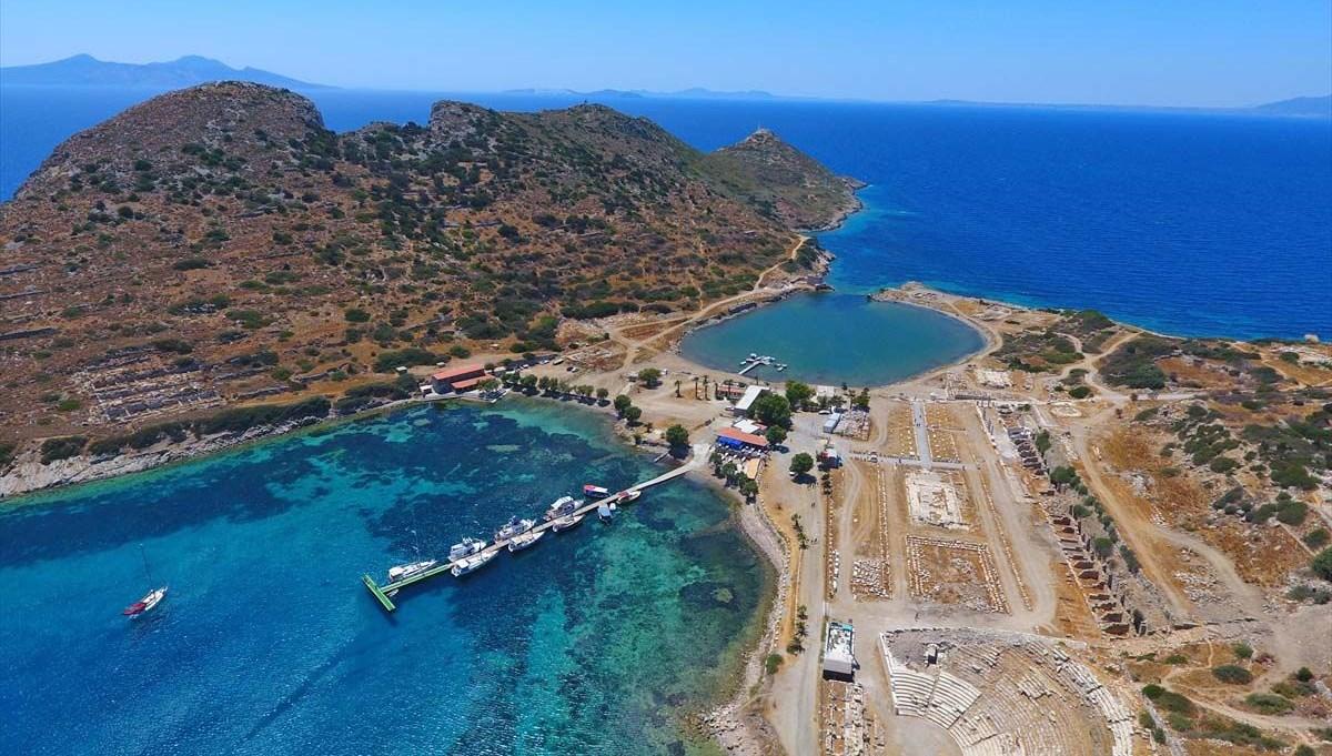 Ege ve Akdeniz'in birleştiği yer: Knidos