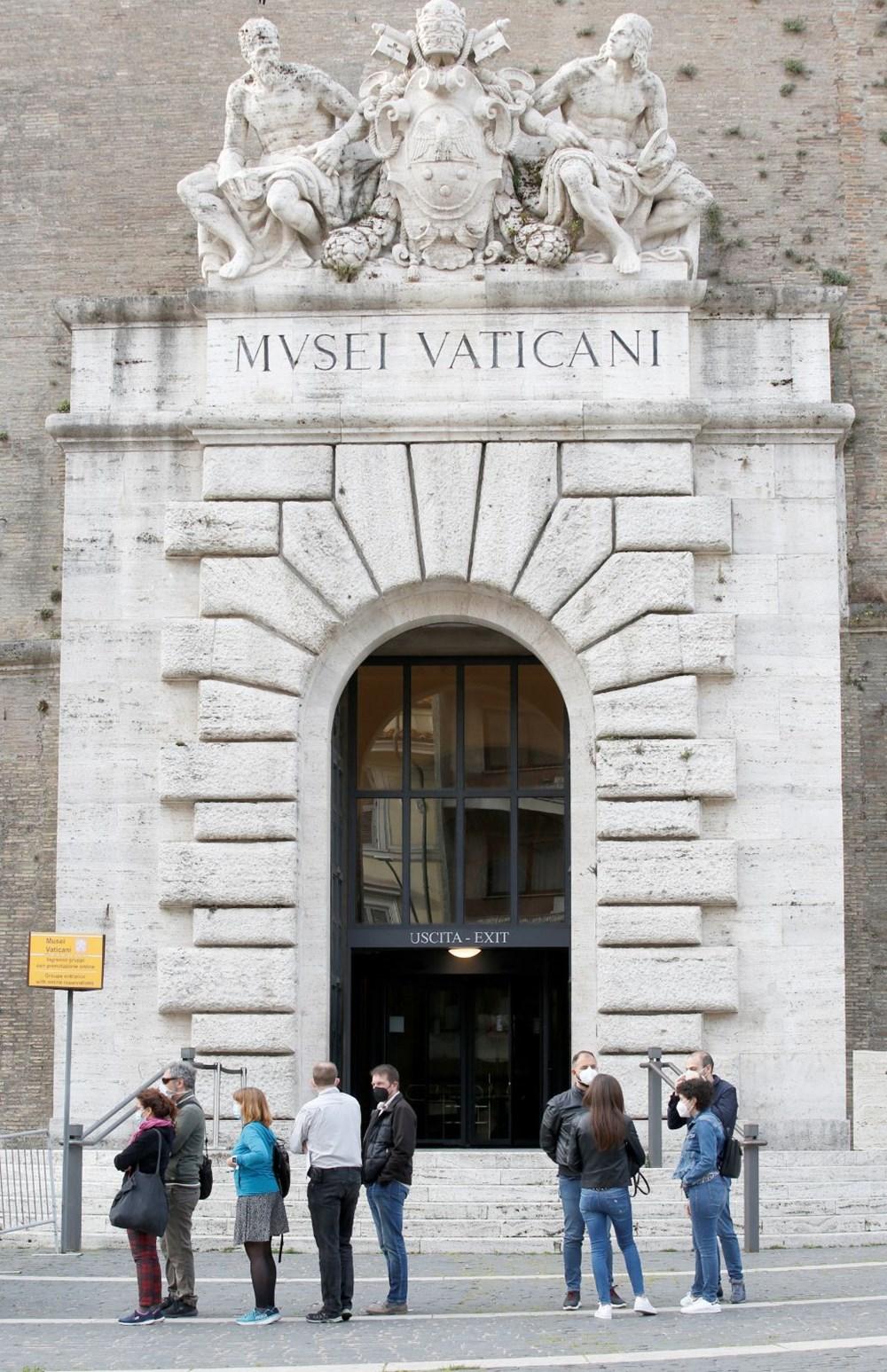 Vatikan Müzesi yeniden ziyarete açıldı - 5