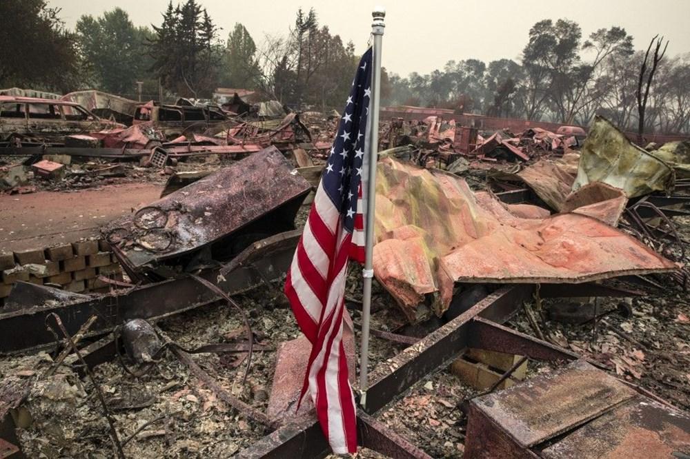ABD'de aşırı sıcaklar nedeniyle 60'tan fazla orman yangını: Binlerce kişi tahliye edildi - 13