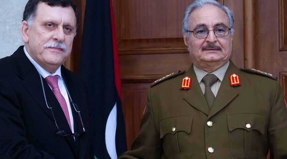 Libya Ulusal Mutabakat Hükümeti Başbakanı Serrac metne imza atmıştı.