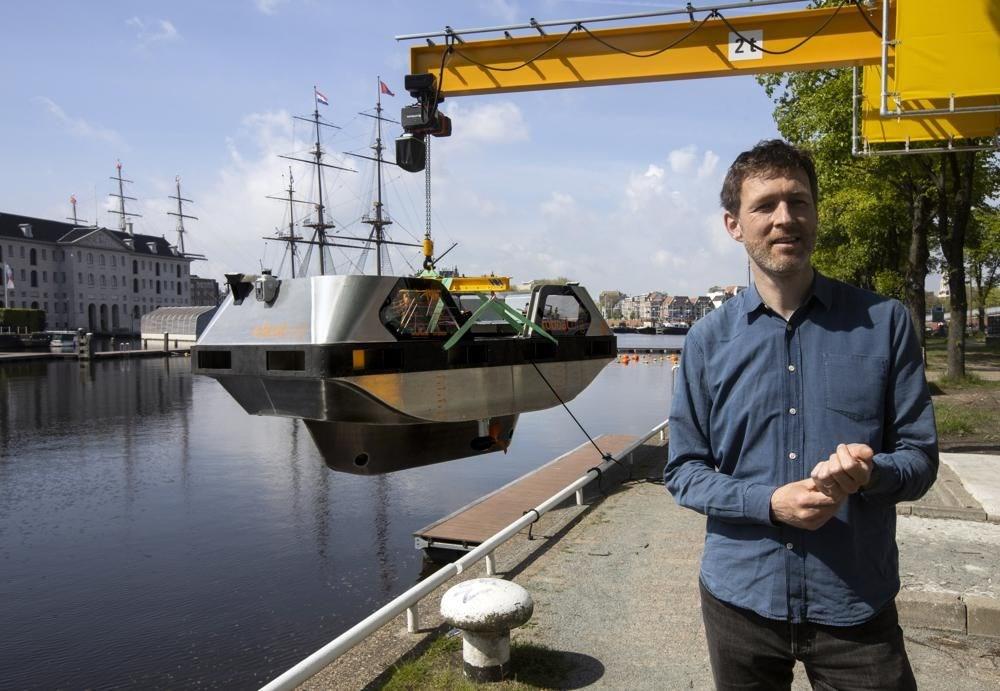 Sürücüsüz gezi teknesi tanıtıldı: Robot tekne - 5