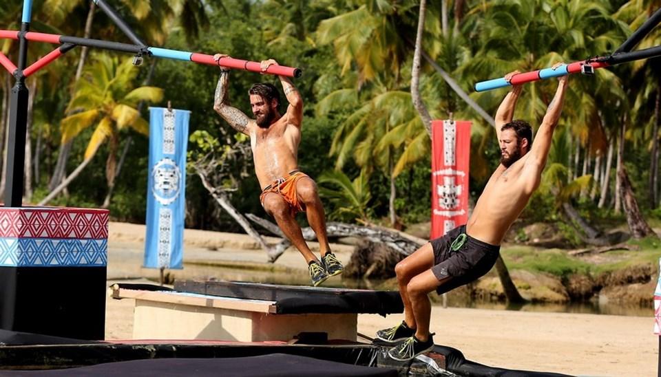 Atakan ve Serkay Survivor boyunca sportif özellikleriyle dikkat çekti.