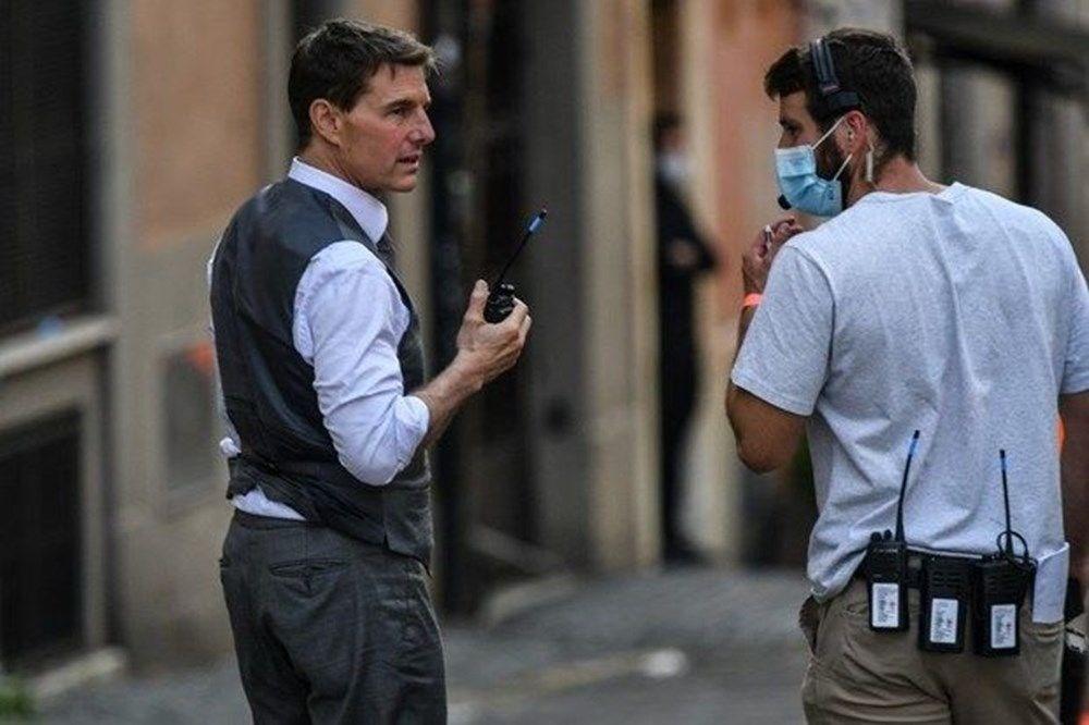 Tom Cruise Görevimiz Tehlike 7 çekimleri için baskı altında - 3