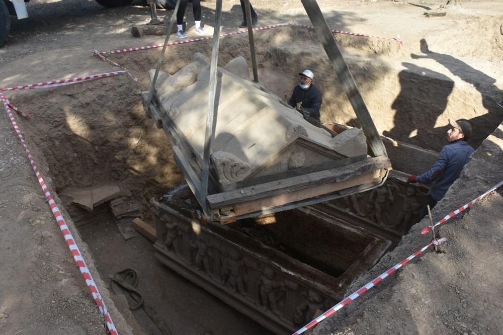 İznik'te Hisardere kazılarında iki lahit bulundu: Mumyalanmış 3 iskelet - 15