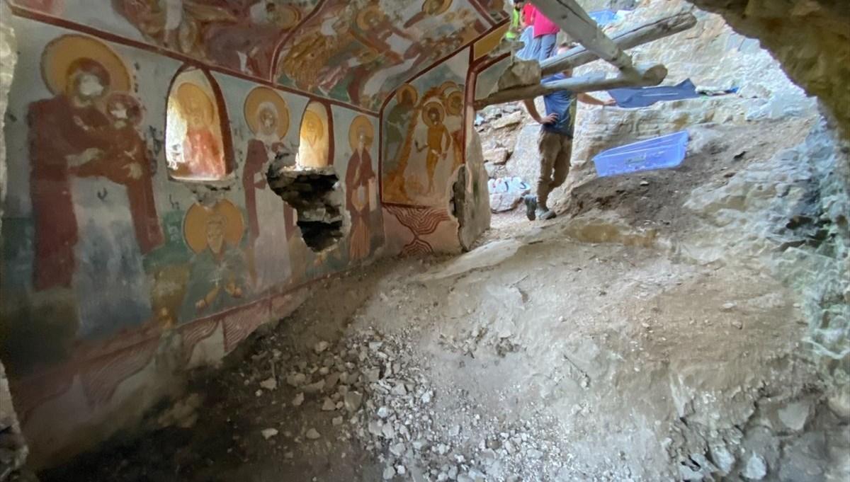 Sümela Manastırı kayalıklarındaki 'saklı şapeller' ziyarete açılacak