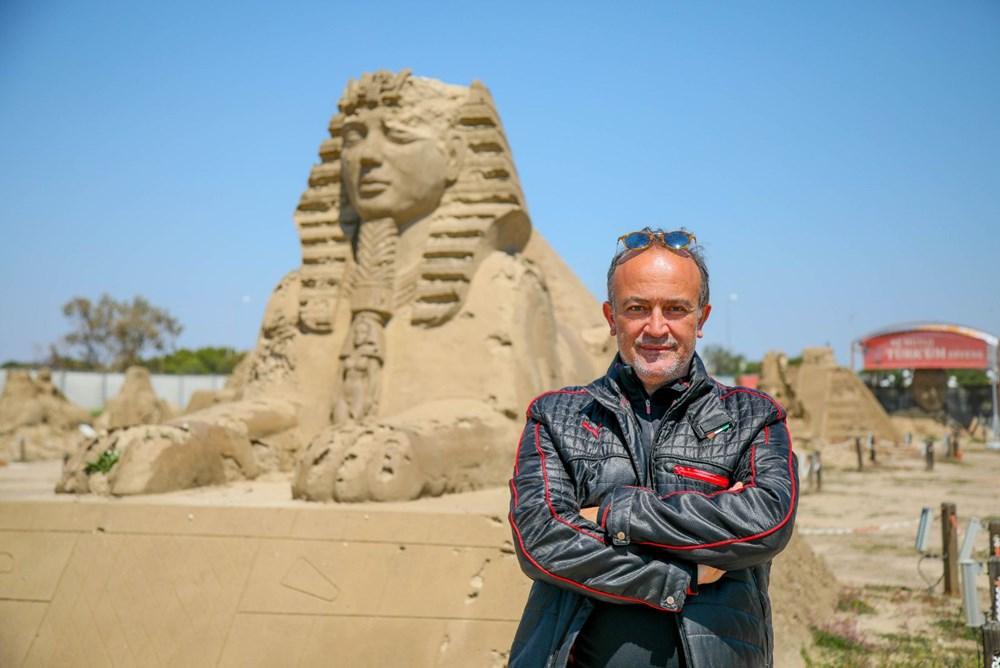 Atlantis, kum heykellerle canlanacak - 2