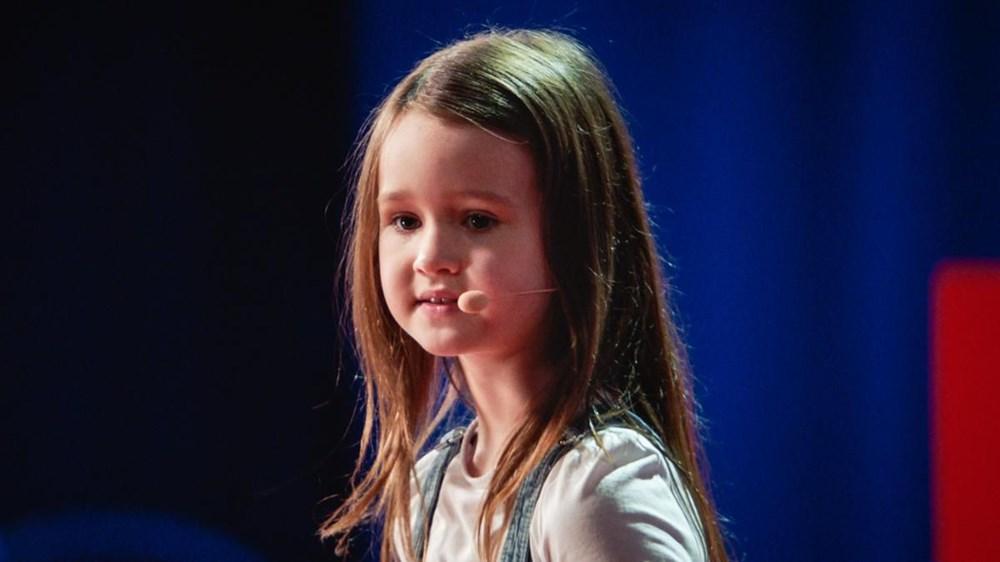 Yedi yaşındaki Molly Wright TED konuşması yaptı - 2