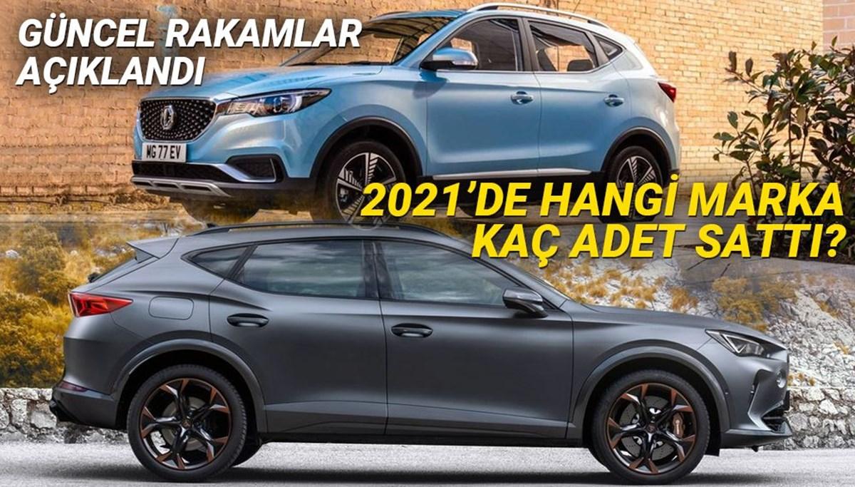 2021'in en çok satan araba modelleri (Hangi otomobil markası kaç adet sattı?)