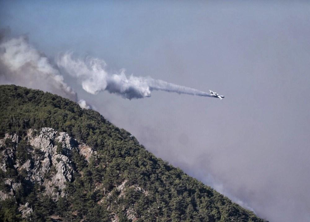 Hatay ve Mersin'de orman yangını - 16