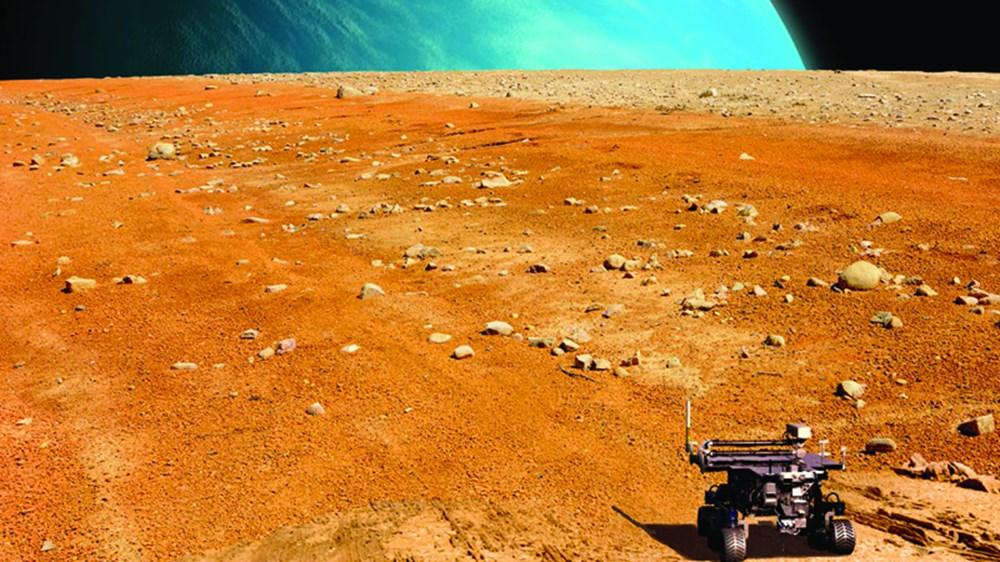 Bilim insanlarından 'Mars vebası' uyarısı: Kızıl Gezegen'den alınan örneklerin Dünya'ya getirilmesi yıkıcı bir pandemiye neden olabilir - 9