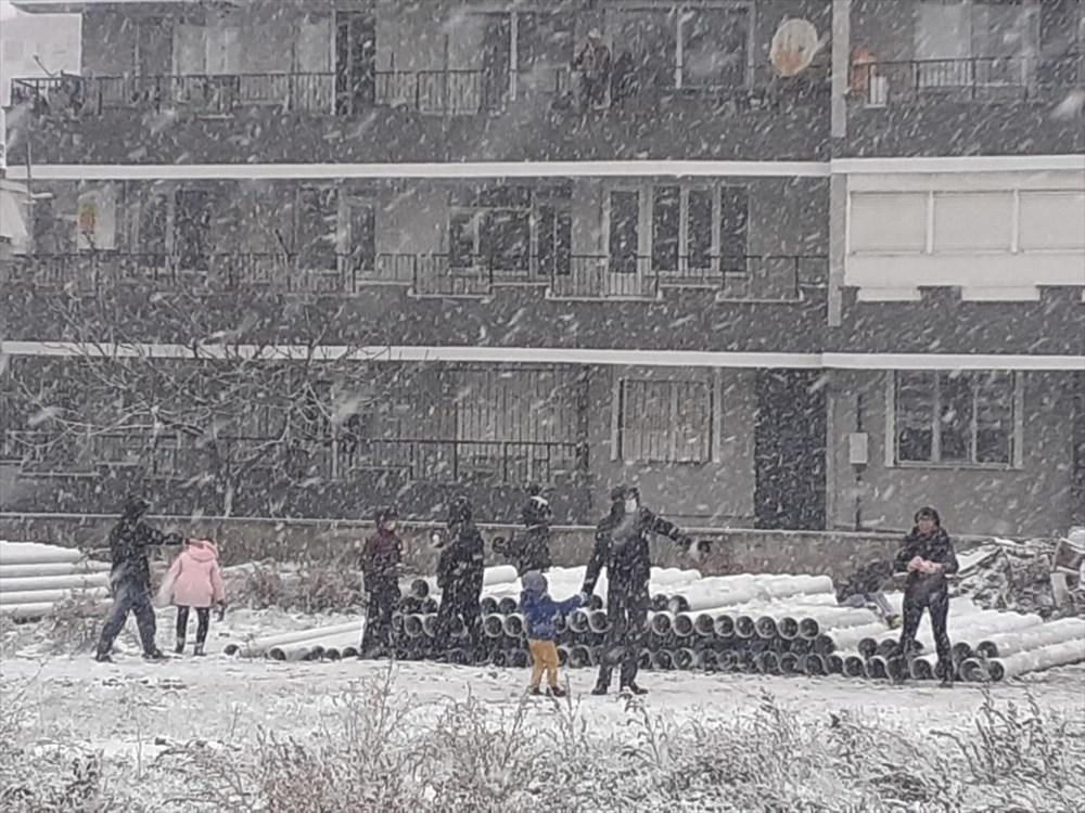 Yurtta kar yağışı (İzmir'in yüksek kesimlerinde kar yağışı etkili oluyor) - 3