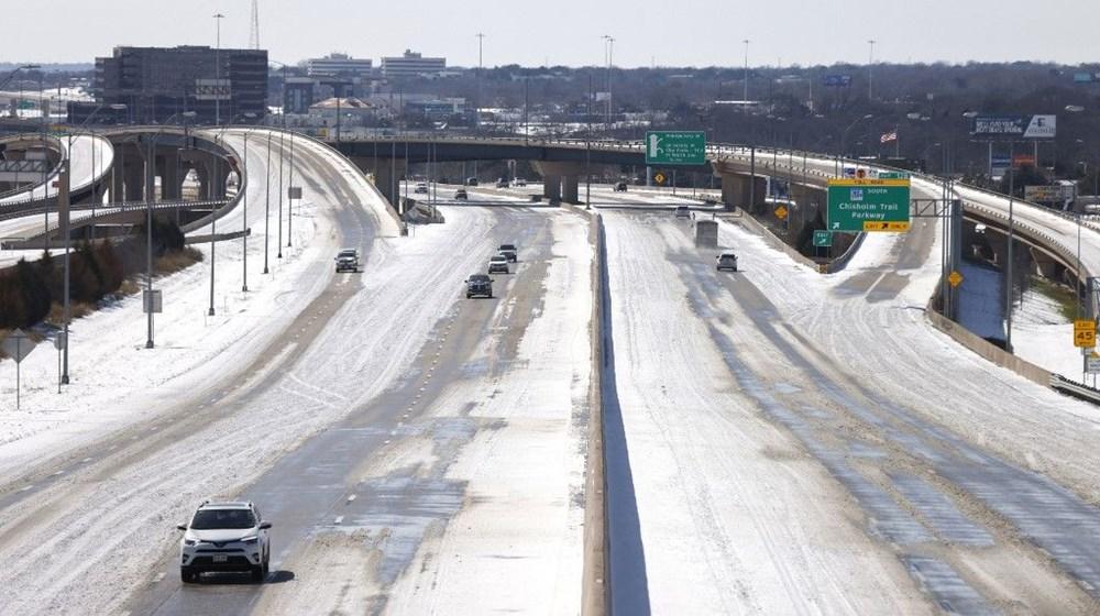 Teksas'ta kar fırtınası: En az 21 kişi hayatını kaybetti - 3