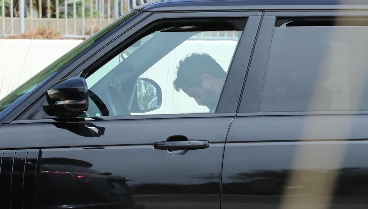 Gerard Butler otomobilde uyuyakaldı