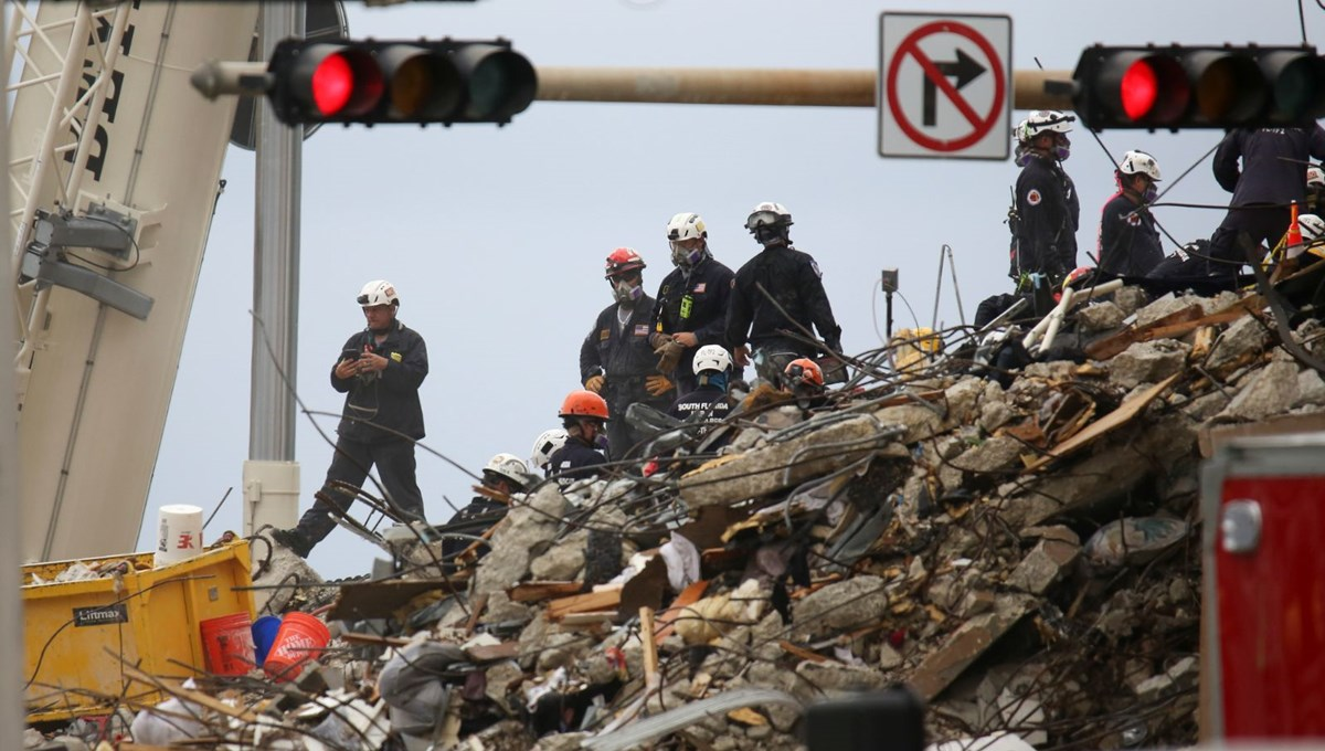 Building collapsed in the USA: Loss of life increased to 18, no news of 147 people