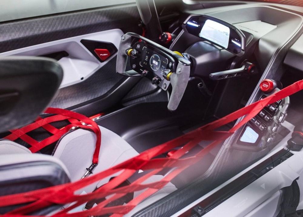 Porsche Mission R Konsepti tanıtıldı: Elektrikten gelen 1.088 beygirlik güç - 7
